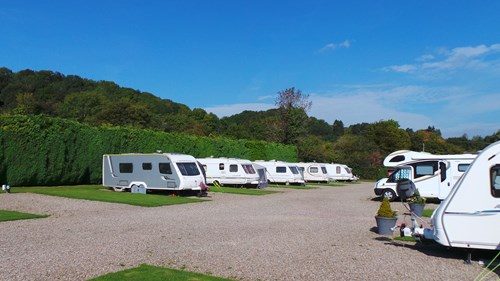 Touring at Orleton Rise Holiday Home Park, Ludlow, Shropshire