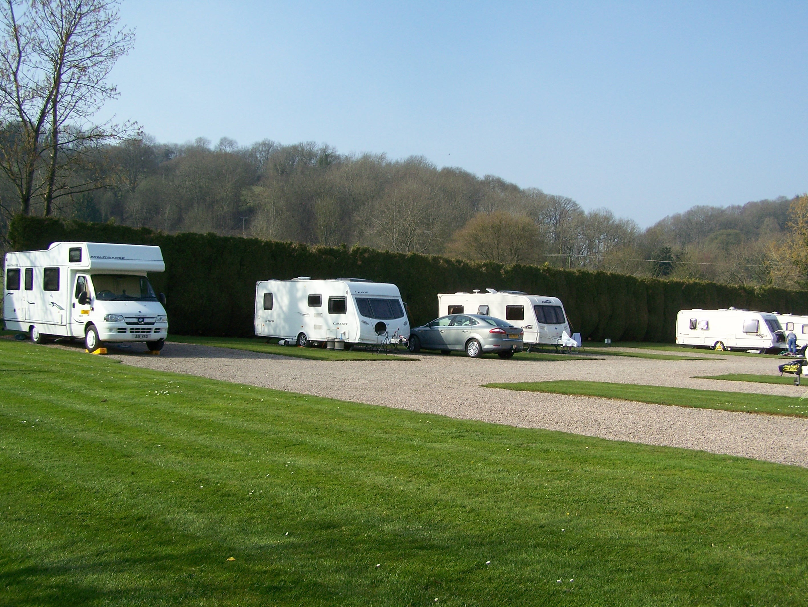 Touring Pitches at Orleton Rise Holiday Home Park