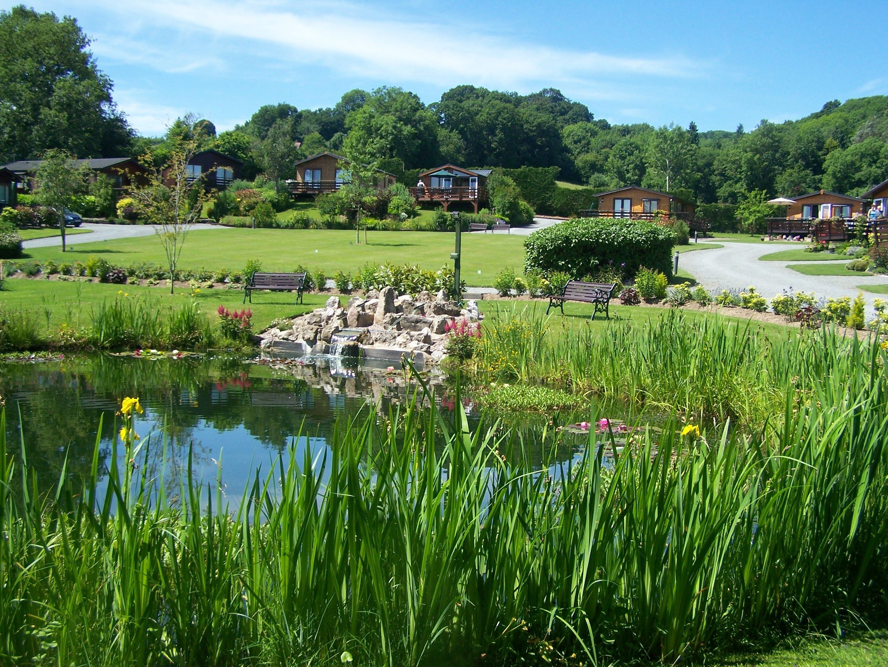 Five Star Holiday Park at  Orleton Rise Holiday Home Park, Shropshire